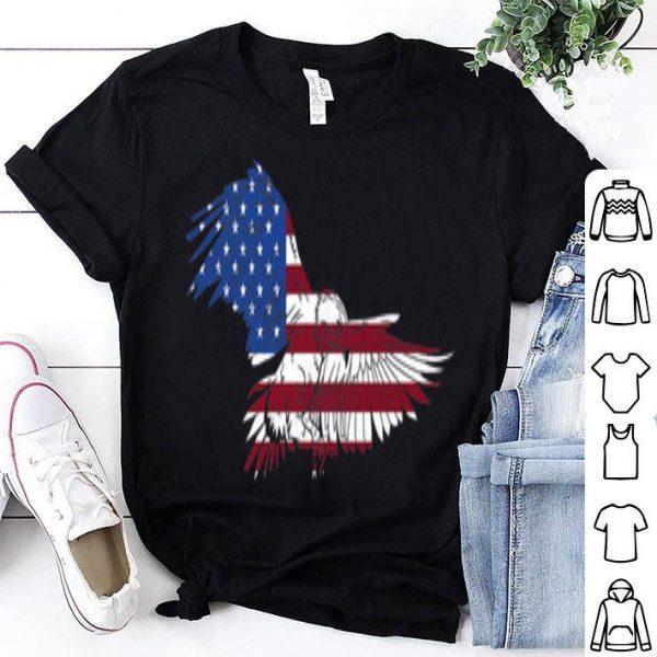 Patriotic USA Flag4th of July American Eagle shirt