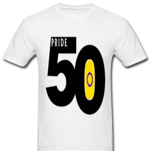 Pride 50 Intersex Pride Flag World Pride 2019 shirt