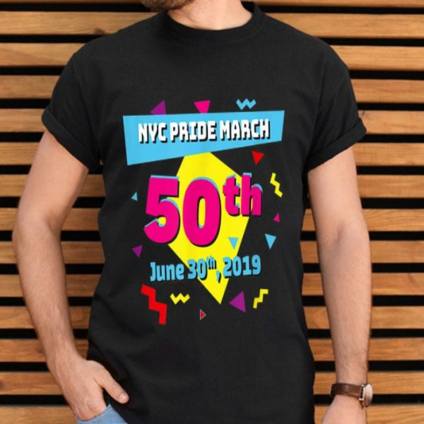 Pride March Riots 50th NYC Gay Pride LGBTQ Rights 90's Style shirt