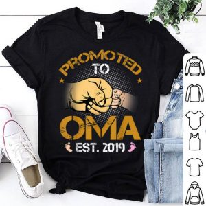 Promoted To Oma Est 2019 New Dad Fathers Day shirt
