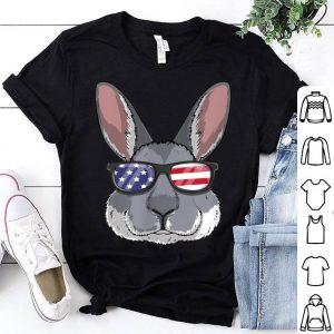 Rabbit Bunny Patriotic USA 4th of July American shirt