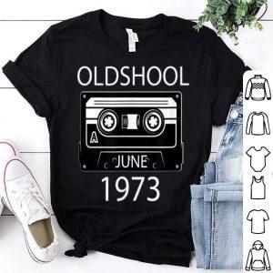 Retro June 197346th Birthday Gift Shirt