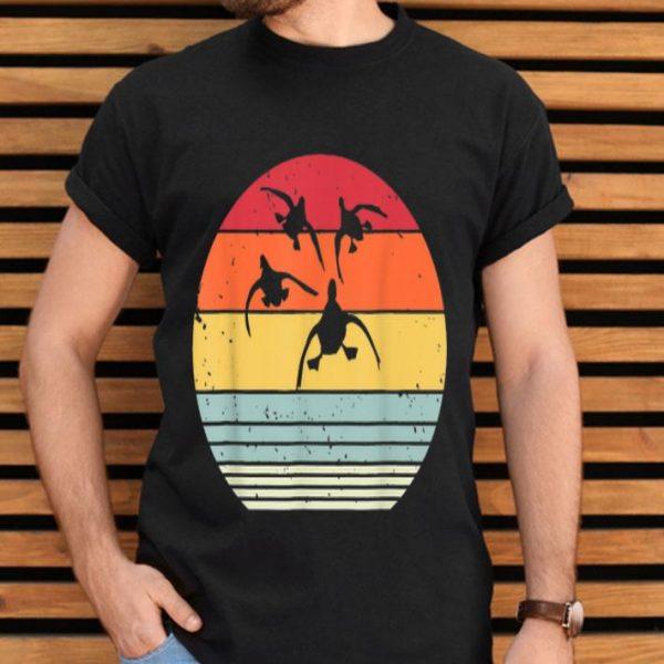 Retro Vintage Sunset Duck Hunting shirt