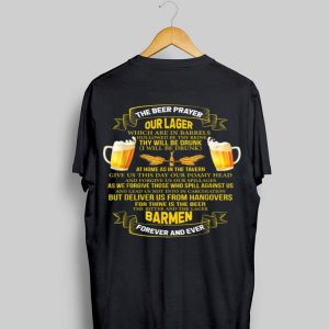 The Beer Prayer Beer Drinking shirt
