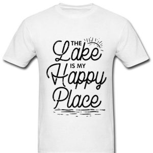 The Lake Is My Happy Place Summer Vacation Camper shirt
