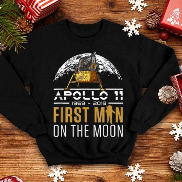 50th Anniversary Apollo 11 First Man on the Moon shirt