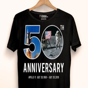 50th Anniversary Apollo 11 Moon Landing 1969 2019 Astronaut shirt
