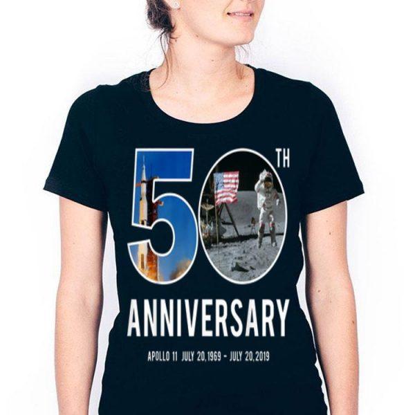 50th Anniversary Apollo 11 Moon Landing 1969 2019 Astronaut shirt