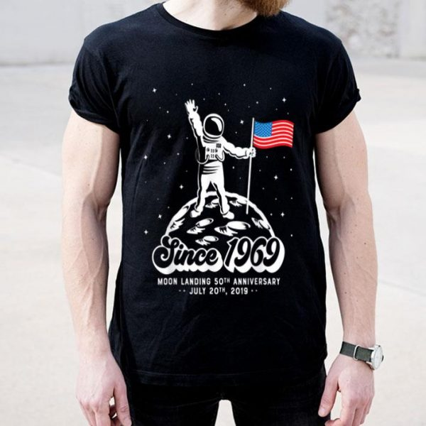 50th Anniversary Apollo 11 Moon Landing Landed On The Moon shirt