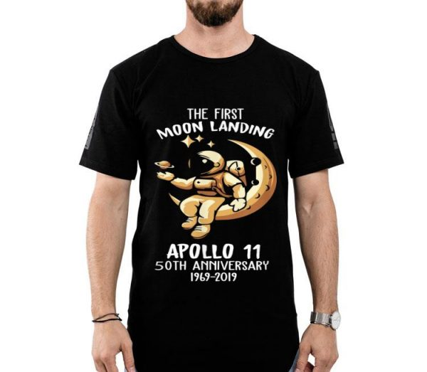 50th Anniversary Apollo 11 Moon Landing Space First Step On The Moon shirt