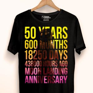 50th Anniversary Moon Landing Apollo 11 Giant Leap shirt