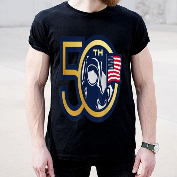 50th Anniversary Moon Landing Apollo 11 Man On Moon shirt
