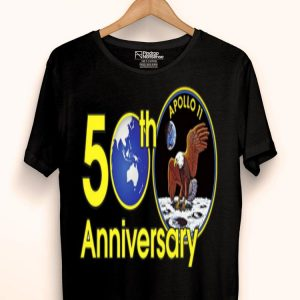 50th anniversary of Apollo 11 Moon landing USA eagle Giant Leap shirt