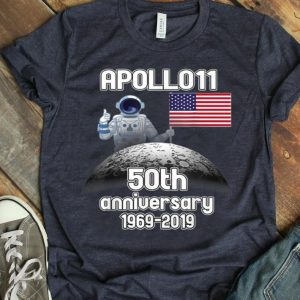 Apollo 11 50th Anniversary 1969-2019 shirt