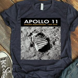 Apollo 11 50th Anniversary Bootprint Boot Print shirt