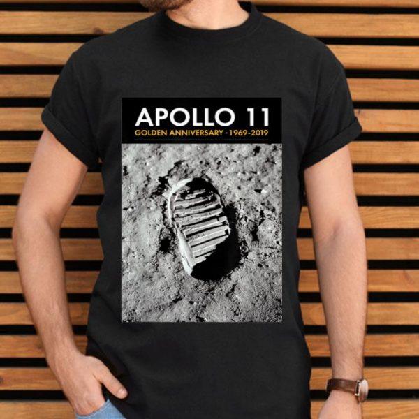 Apollo 11 50th Anniversary Bootprint Boot Print shirt