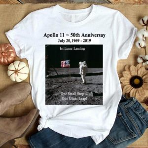 Apollo 11 50th Anniversary Commemorative 1st Lunar shirt