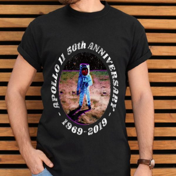 Apollo 11 50th Anniversary First Step On The Moon Distressed Retro shirt