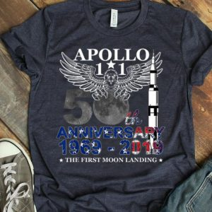 Apollo 11 50th Anniversary Moon Landing 1969-2019 American Proud shirt