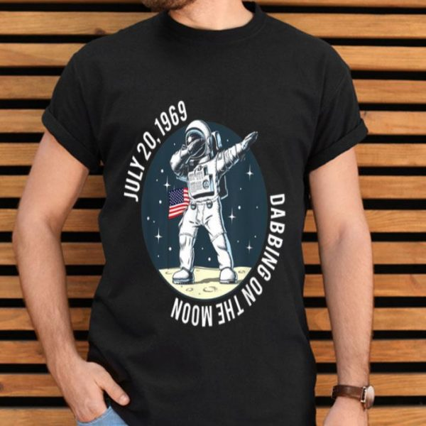 Apollo 11 50th Anniversary Moon Landing 1969 2019 Dabbing shirt