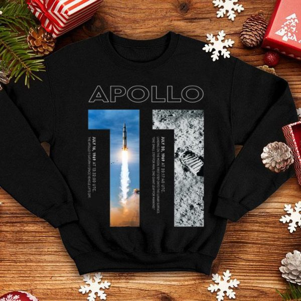 Apollo 11 50th Anniversary Moon Landing 1969 2019 Premium Landed On The Moon shirt