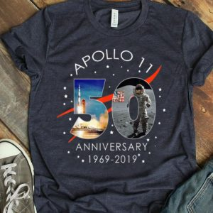 Apollo 11 50th Anniversary Moon Landing July 20, 1969 shirt