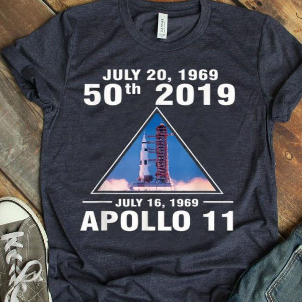 Apollo 11 50th Anniversary Moon Landings shirt