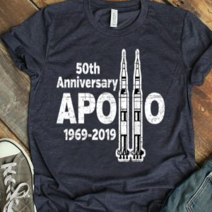 Apollo 11 50th Anniversary NASA Saturn V Rocket shirt