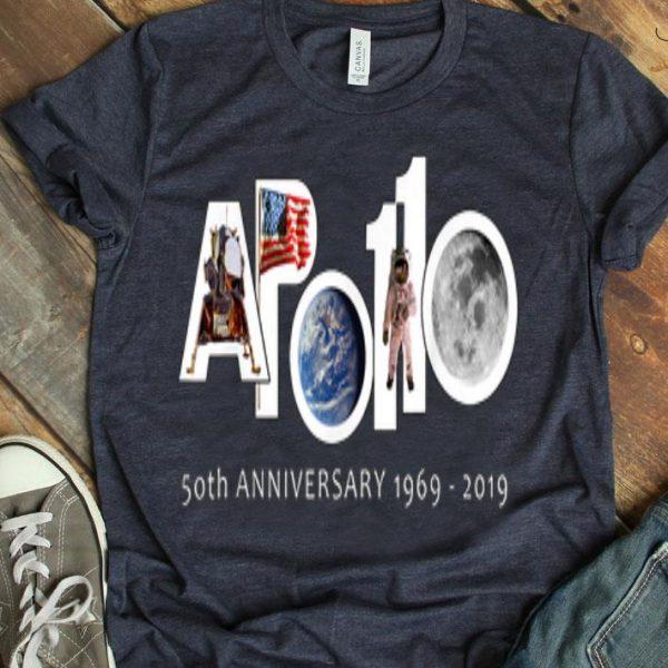 Apollo 11 Moon Landing 50th Anniversary 1st Man Step shirt