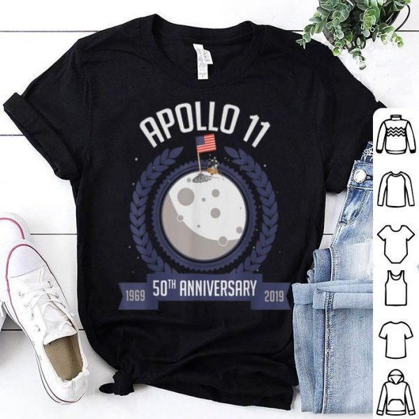 Apollo 11 Moon Landing 50th Anniversary Luna Lover shirt