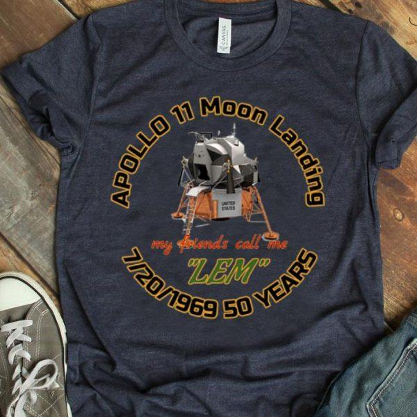 Apollo 11 Moon Landing LEM Eagle has Landed Anniversary Giant Leap shirt