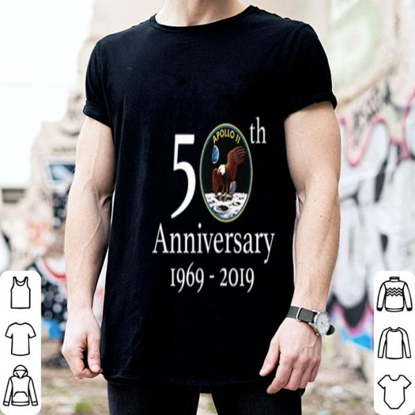 Apollo 50th Anniversary Logo NASA shirt