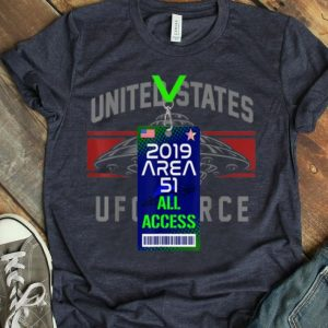 Area 51 Fake All Access Pass UFO Fan shirt