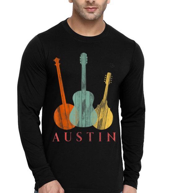 Austin Texas - Distressed Music Lover shirt