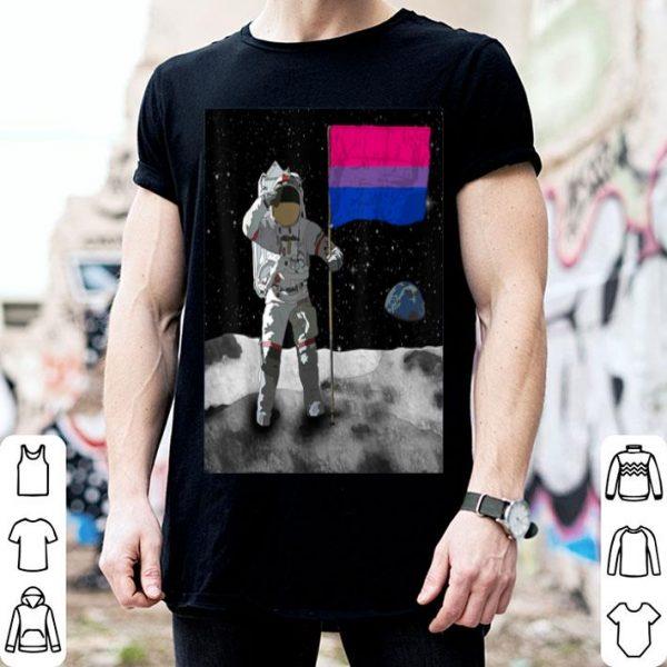 Bisexual Flag Moon Landing - Bisexuals shirt