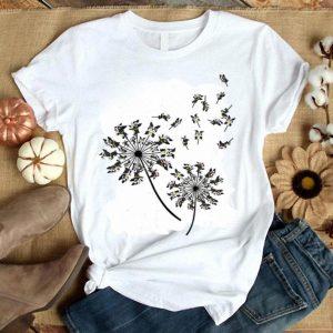 Boston Terrier Flower Dandelion Boston Terrier shirt