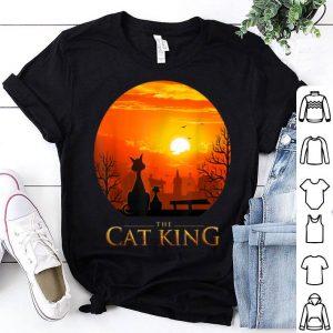 Cat King Best Dad In Magic Sunset shirt