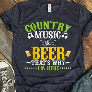 Country Music Lover Beer shirt