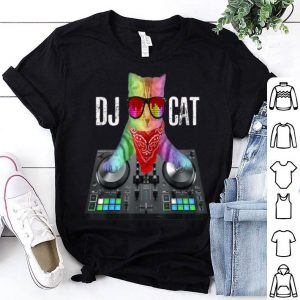 Dj Music The Cool Dj Cat Great 2019 shirt