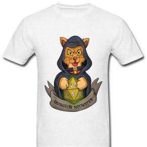 Dungeon Meowster Master Dnd Dm Dungeons And Cats shirt