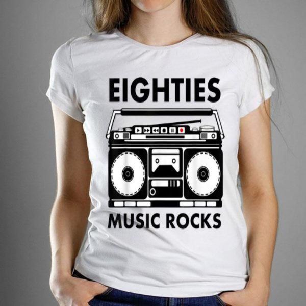Eighties Music Lover Rocks shirt