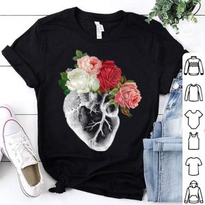 Flower Anatomical Heart shirt