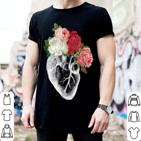 Flower Anatomical Heart shirt
