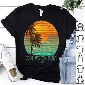 Fort Walton Beach Florida Sunset Beach Summer Vacation shirt