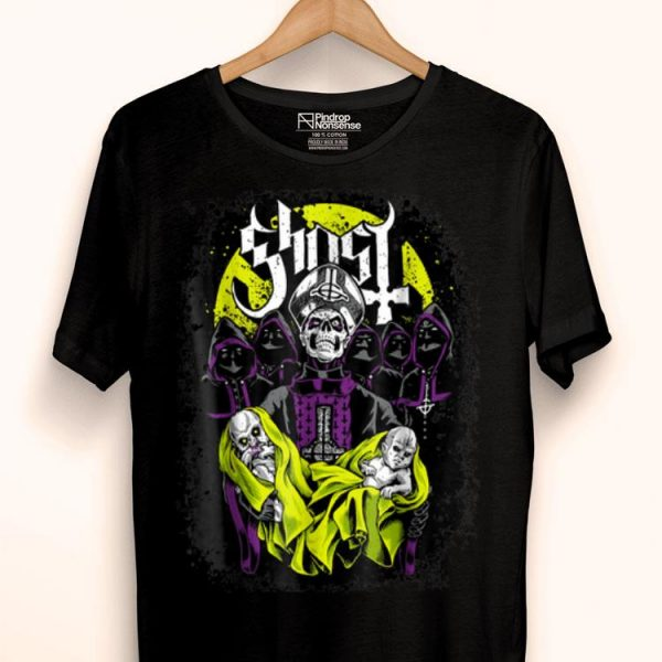 Ghost - Bc - Band - Heavy Metal Music Lover 666 Fan shirt