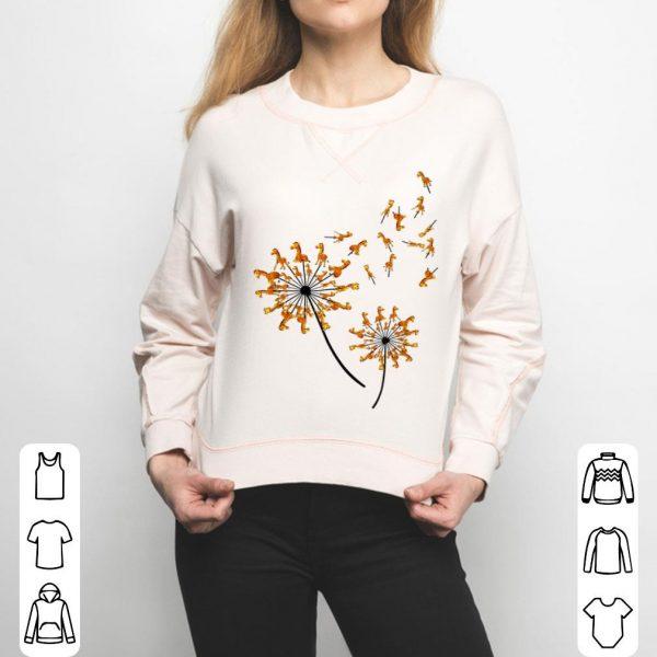 Giraffe Flower, Dandelion Giraffe, Flower Giraffe shirt