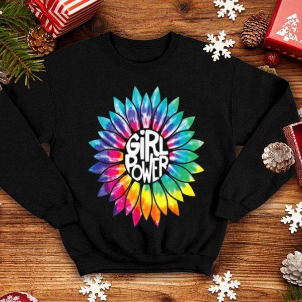 Girl Power Flower Tie Dye Hippie Female Empower shirt