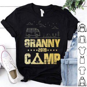 Granny Camp 2019 Family Vacations Vintage Camping shirt