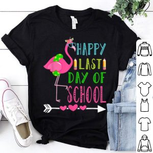 Happy Last Day Of School Flamingo shirt