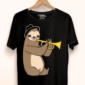 Jazz Sloth Trumpet Music Loverian shirt